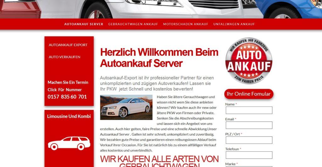Autoankauf Essen - Auto verkaufen in Essen