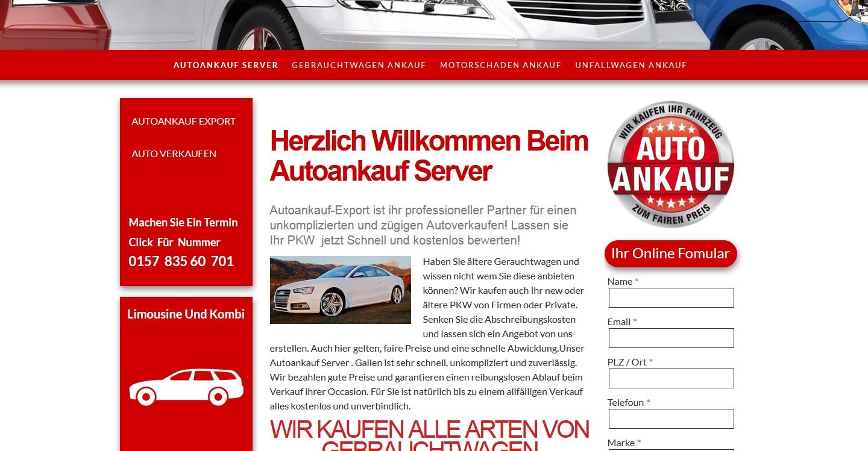 autoankauf server - PKWs aller Art Unfallwagen Gebrauchtwagen