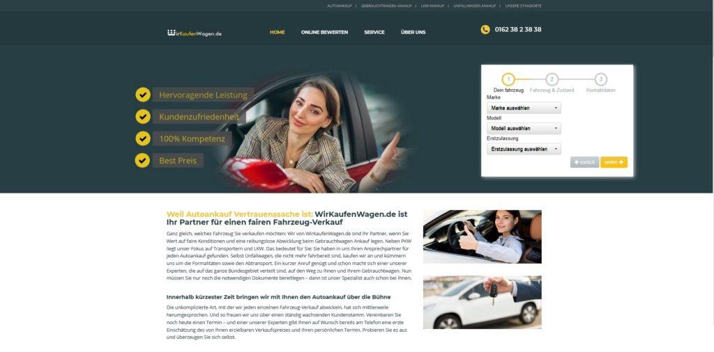 Auto verkaufen in Krefeld - wir Kaufen jeden Wagen Krefeld