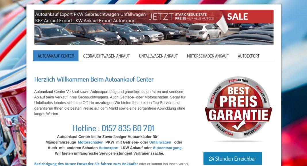 Autoankauf in Lüdenscheid