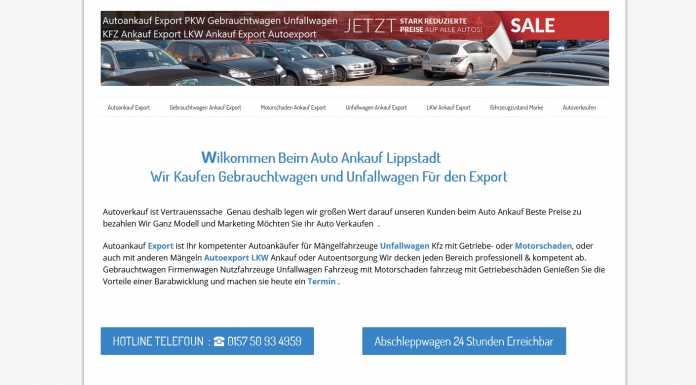 Autoankauf Landau in der Pfalz