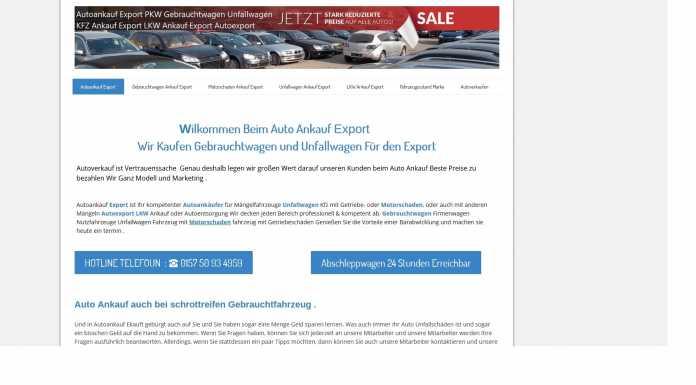 mit Motorschaden oder Totalschaden – Autoankauf Ulm kauft jedwedes Fahrzeug