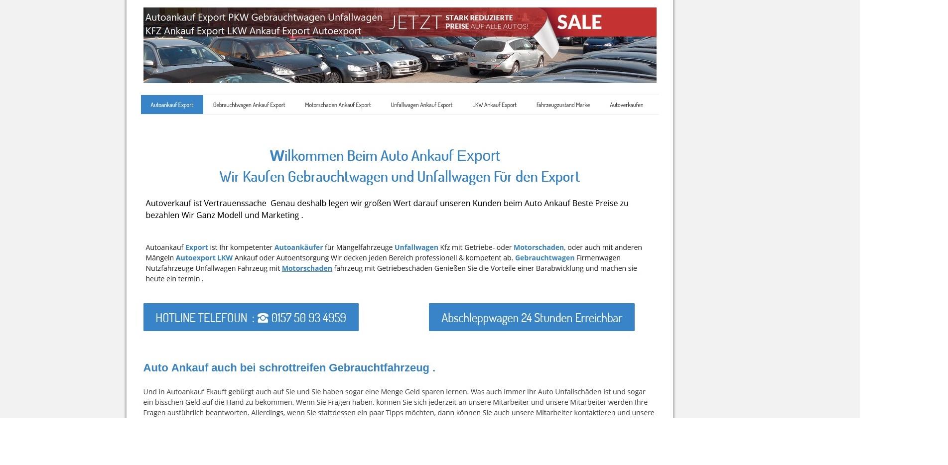 https://www.kfz-ankauf-export.de - Autoankauf Neustadt an der Weinstraße