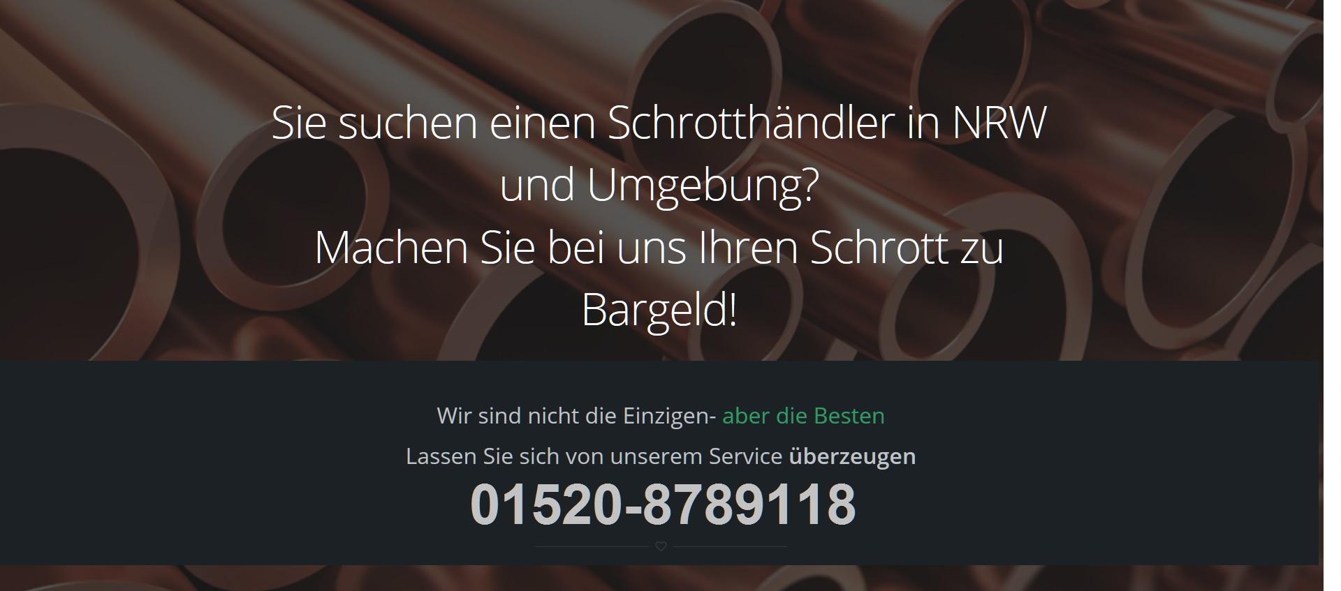 Schrottabholung Remscheid - Schrotthändler NRW