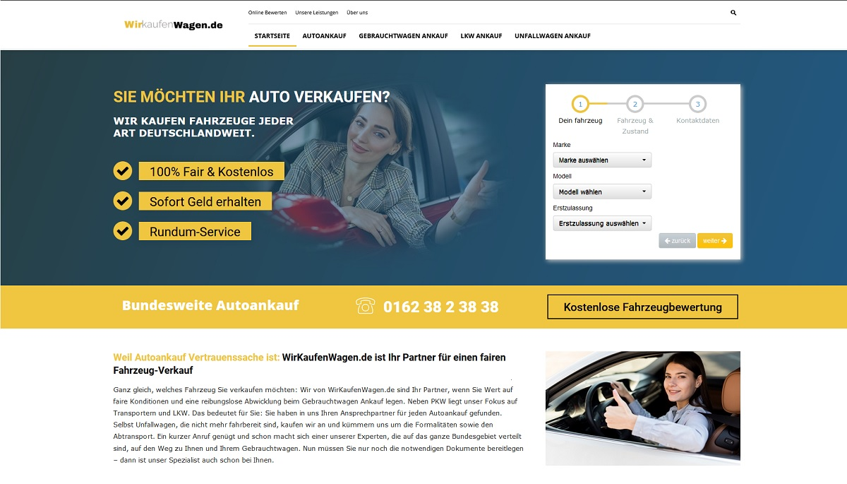 Autoankauf Eupen - Auto verkaufen in Eupen zum Höchstpreis