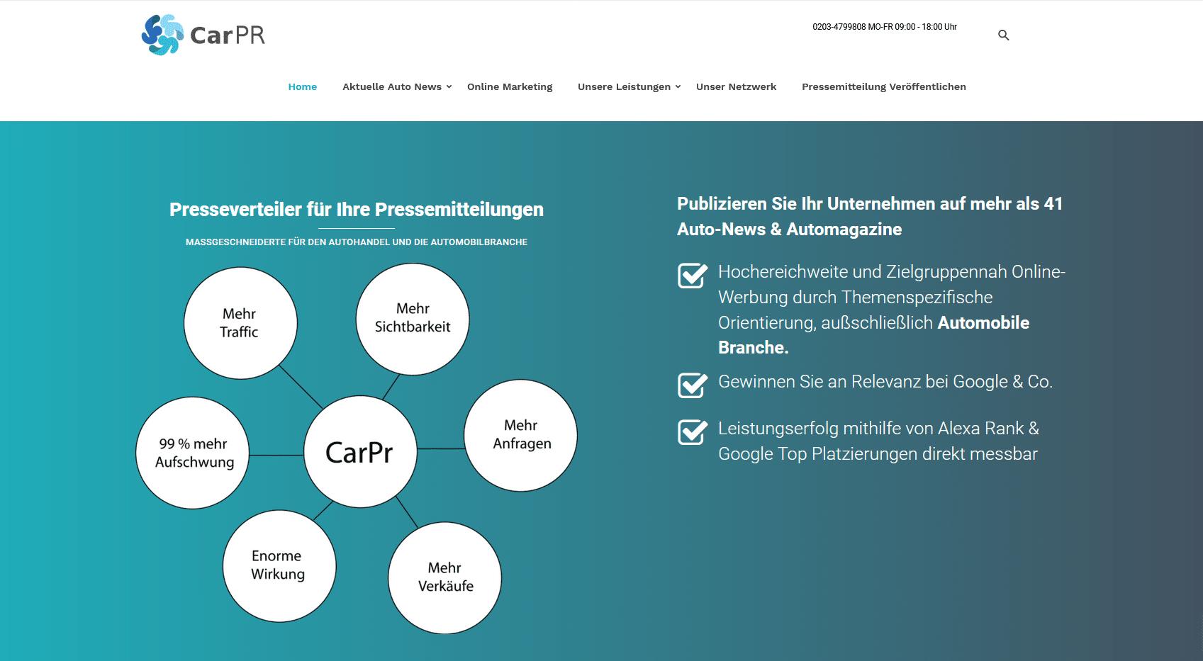 Online Marketing für Autohaus
