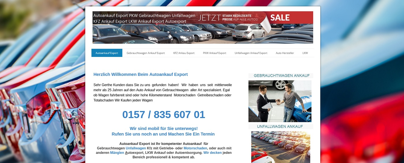 auto-ankauf-exports.de - Autoankauf Falkensee