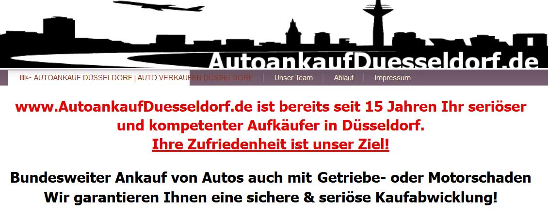 Autoankauf Düsseldorf - Auto verkaufen leicht gemacht