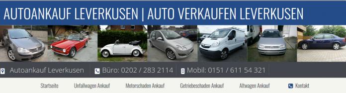 Autoankauf Leverkusen