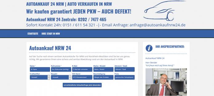 Autoankauf NRW 24