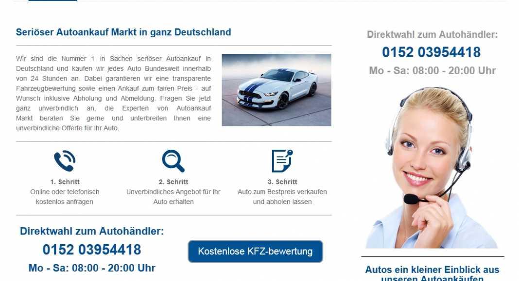 Autoankauf: Auto verkaufen Abholung Europaweit