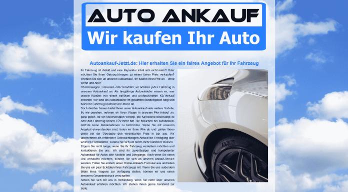Autoankauf Altenburg - Autoankauf Jetzt - Gebrauchtfahrzeug in Altenburg zu verkaufen