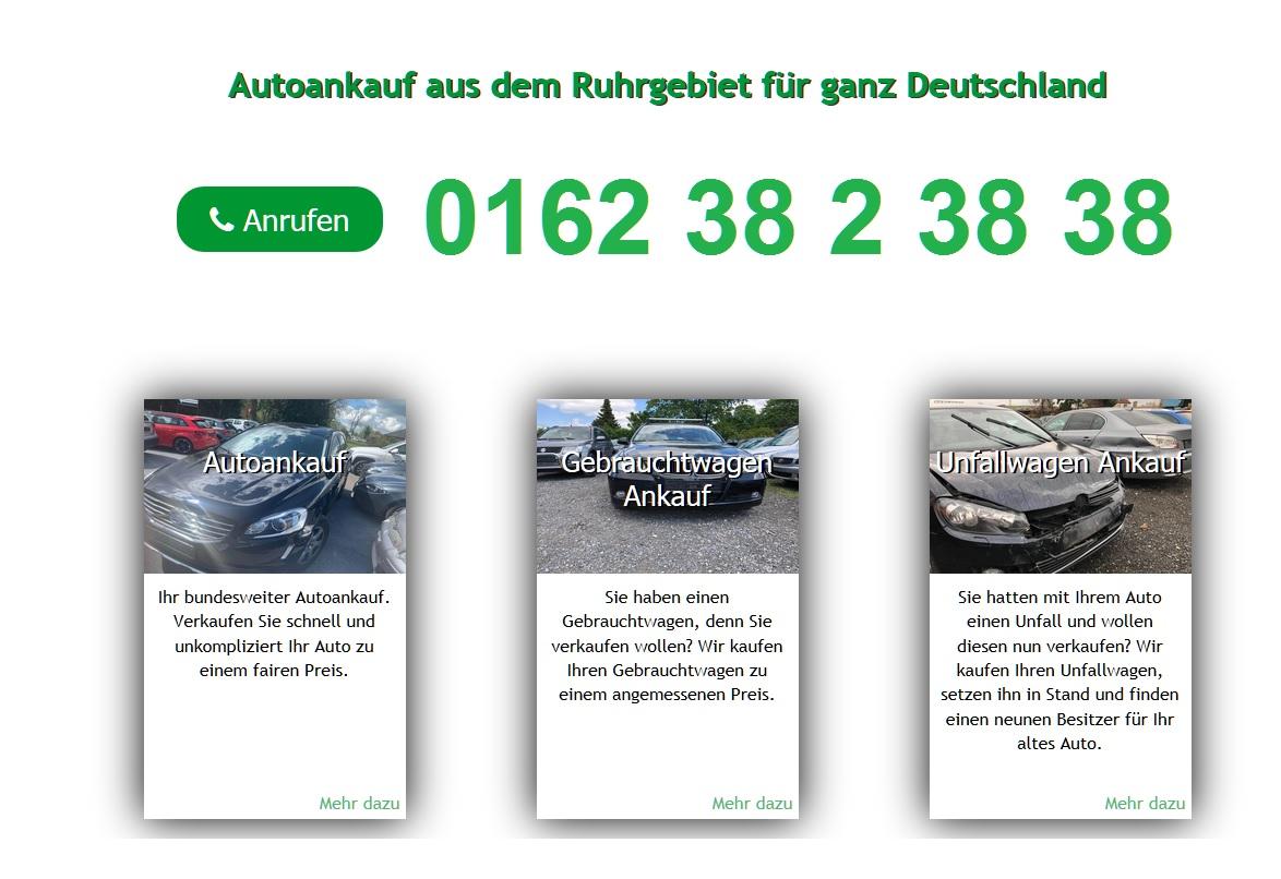 Autoankauf Duisburg direkt ein konkretes Angebot für den Gebrauchtwagen
