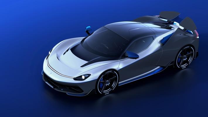 Weltpremiere: Automobili Pininfarina stellt Battista Anniversario vor