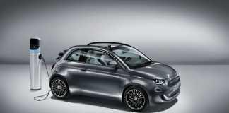 Der neue Fiat 500 - das erste rein elektrisch angetriebene Fahrzeug der Marke