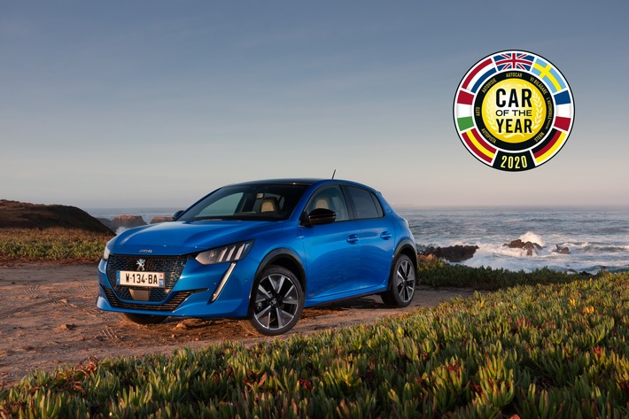 """Der neue PEUGEOT 208 ist """"Car of the Year 2020"""""""