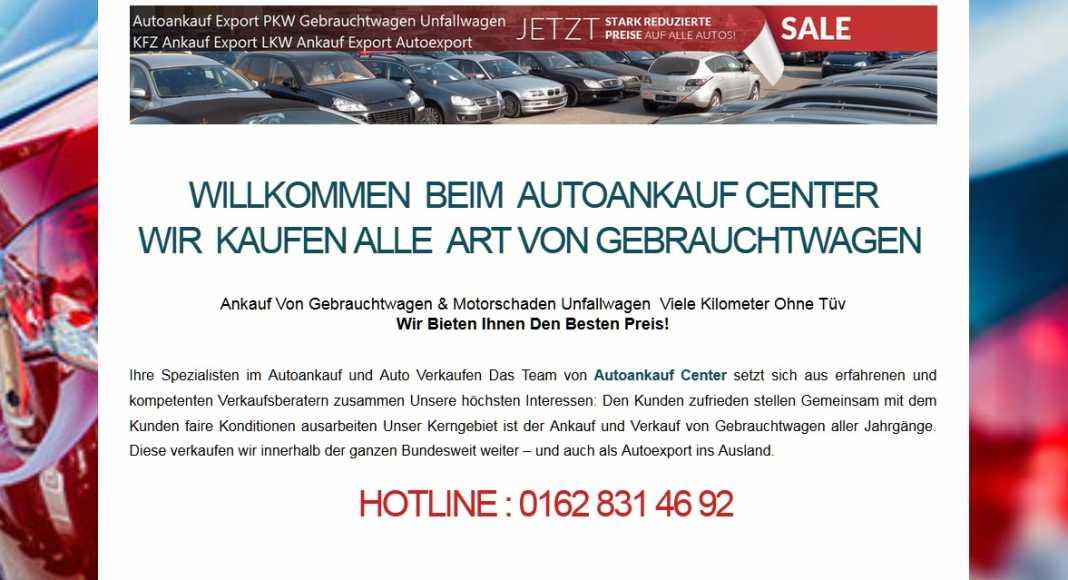 Autoankauf Erfurt
