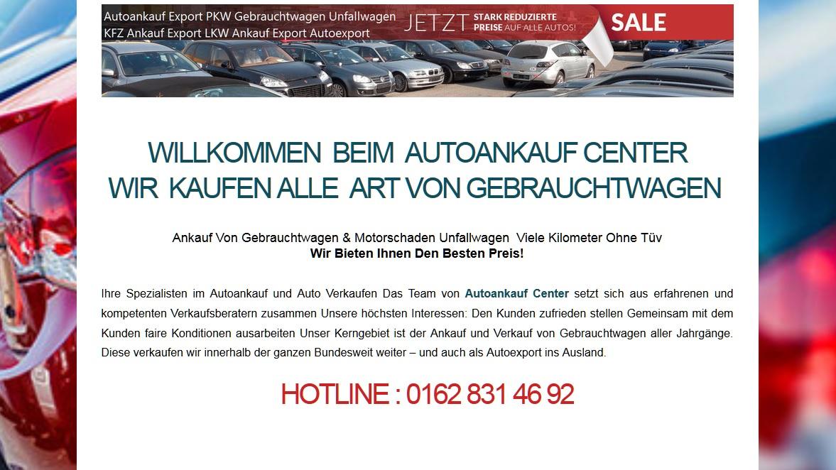 Autoankauf Bonn - Ankauf und Export von Gebrauchtfahrzeugen Bonn