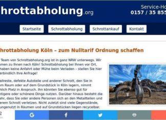 Metall aller Art abholen lassen – Schrottabholung in Köln