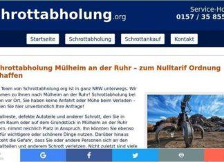 Schrottabholung.org Mühlheim ander Ruhr