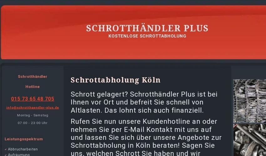 Schrottabholung Köln