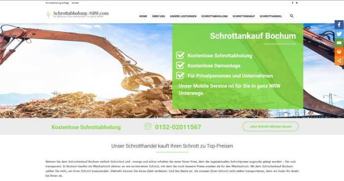 Schrottabholung Bielefeld: Unser Schrotthandel kauft Ihren Schrott zu Top-Preisen