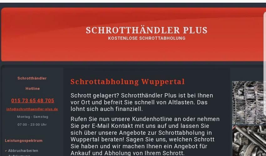 Schrotthändler Wuppertal