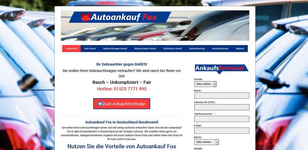 Autoankauf-Fox