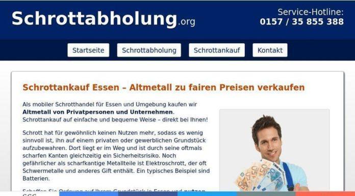 Mobile Schrotthändler kaufen Schrott in Essen