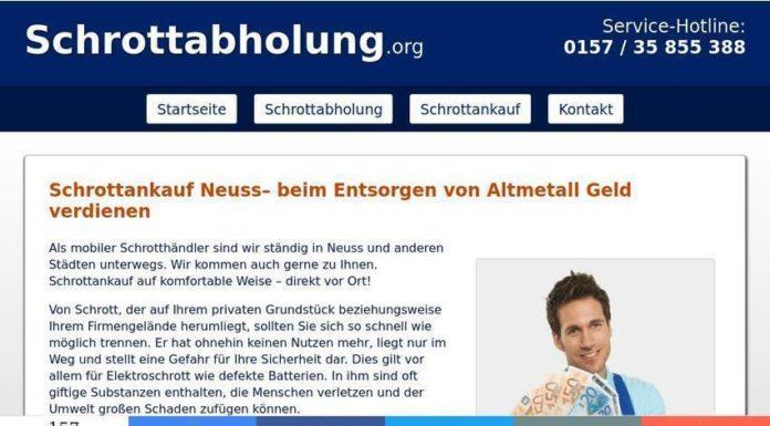 Recycling von Altmetall - Schrottankauf Neuss