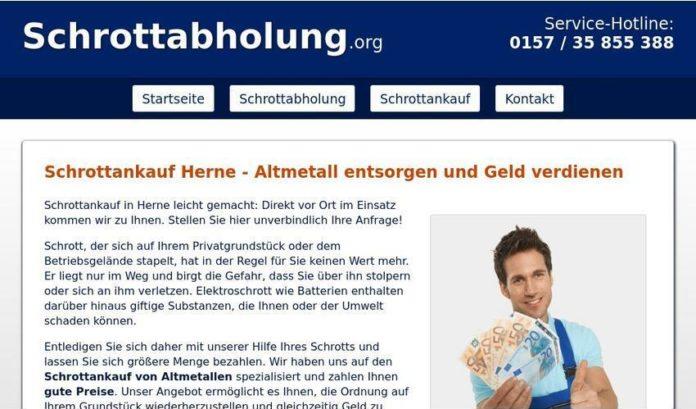 Entsorgung von Metallschrott - Schrottankauf in Herne