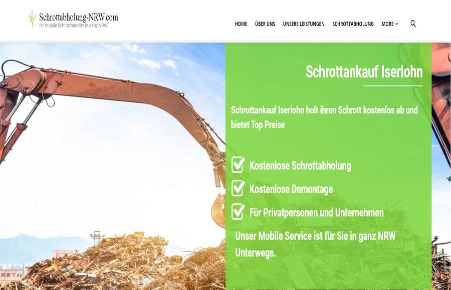 Schrottankauf Iserlohn : Kauft jeden Schrott an !