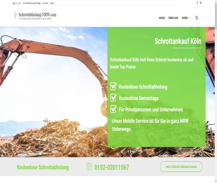 Der Schrottankaufs Köln ermöglicht eine professionelle und unkomplizierte Schrottentsorgung