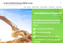 Der Schrottabholung Wuppertal zahlt gutes Geld für Schrott aller Art