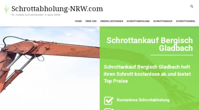 Der Schrottankauf Bergisch Gladbach bietet gute Gründe für eine Schrottabholung