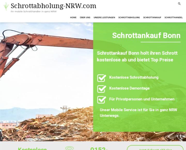 Schrottankauf Bonn: Schrott verkaufen – so komfortabel wie noch nie