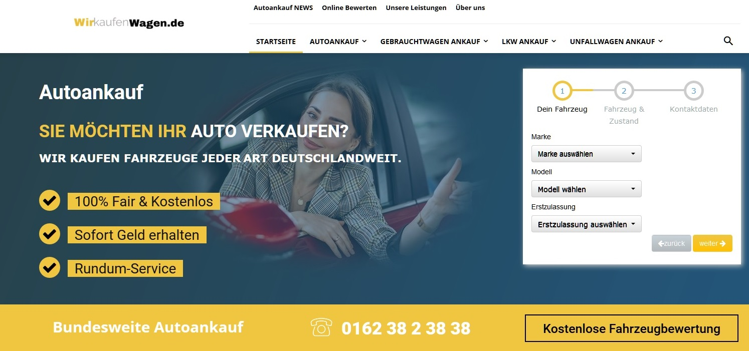 Wir kaufen dein Wagen zum guten Preis - Autoankauf Mengede