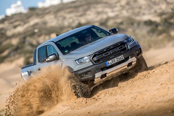 Der Ford Ranger ist