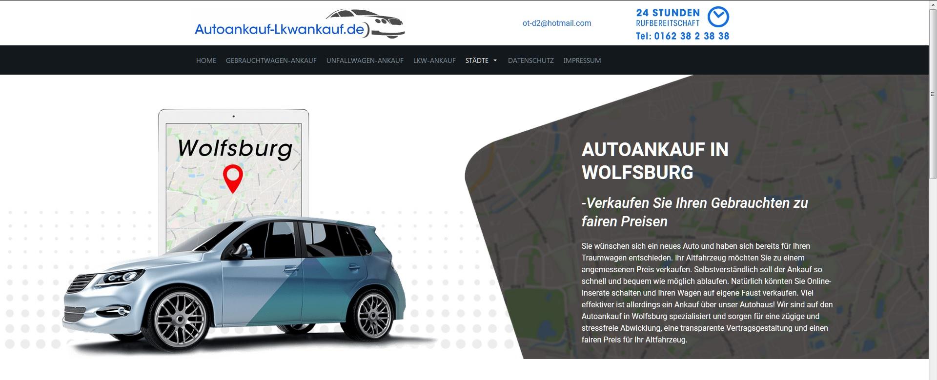 Kinderleicht können Sie einen Unfallwagenankauf bei uns durchführen! Autoankauf-Lkwankauf.de
