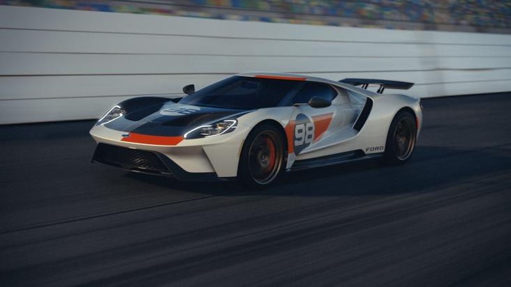 Zwei neue Sonder-Editionen des Supersportwagens Ford GT
