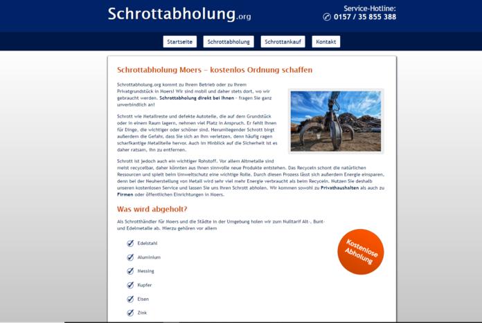 Der schnellste Schrottabholung in Moers und Nordrhein-Westfalen