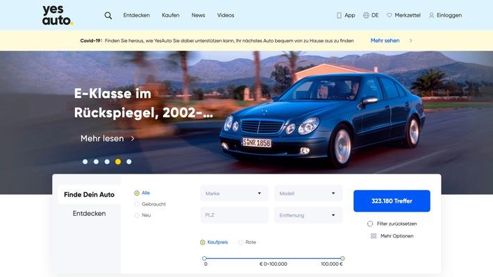 YesAuto startet ultimatives Online-Angebot zum Autokauf in Deutschland