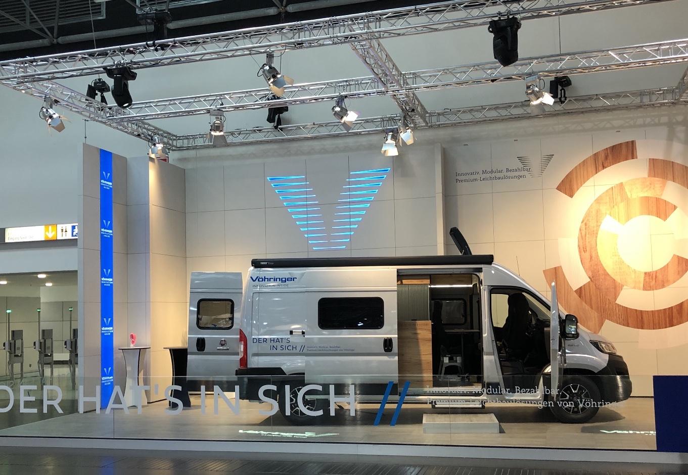 Caravan Salons in Düsseldorf vom 4.- 13.September 2020 zeigt der Weltmarktführer für Leichtbau-Premium wo die Reise im Innenausbau hingeht.