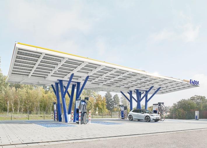 EnBW eröffnet neuen Flagship-Ladepark