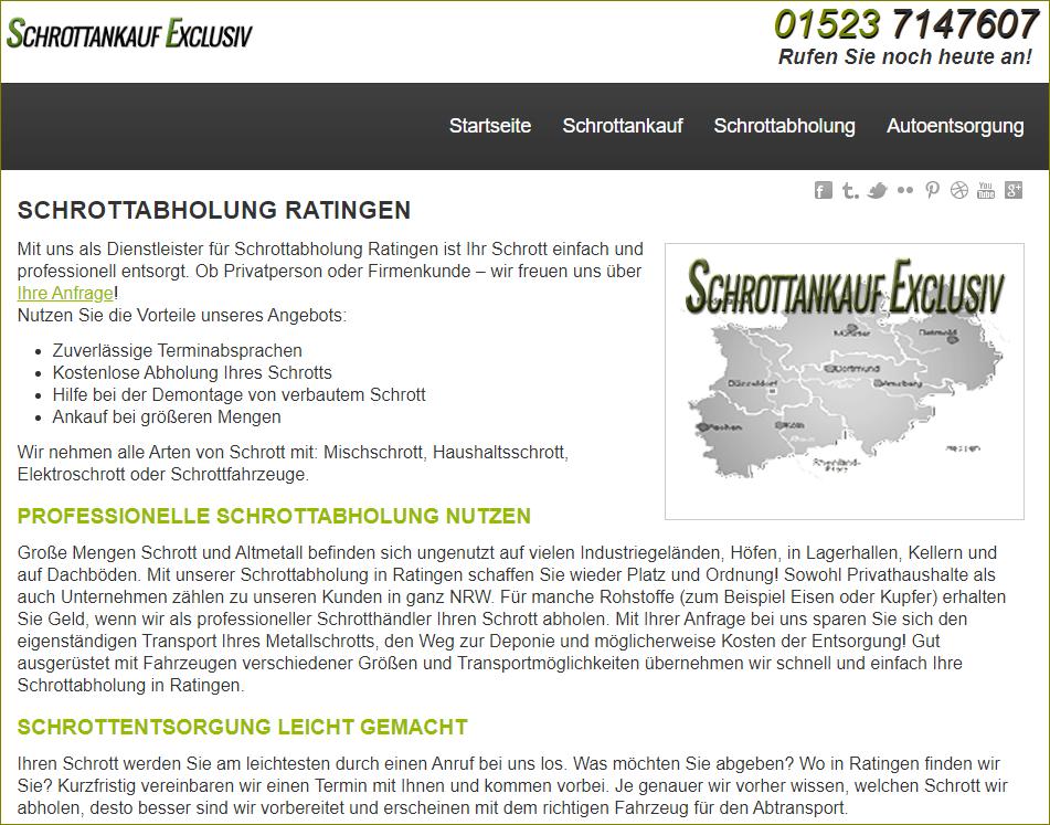 Schrottankauf in Ratingen