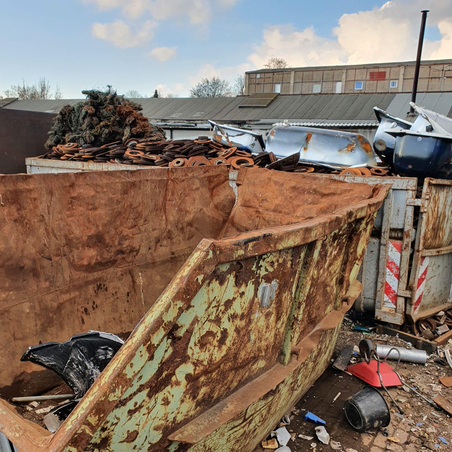 Weil Der Schutz Der Ressourcen Das A Und O Sind: Schrott-Recycling – Schrottabholung Bochum