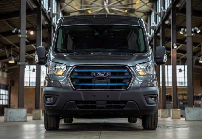 Ford präsentiert den neuen E-Transit