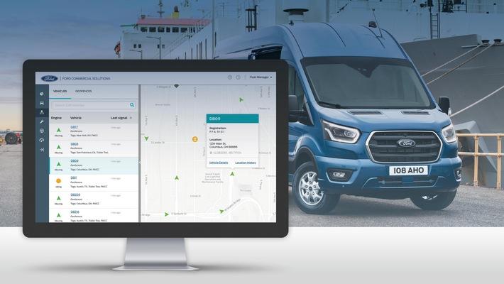 Ford Telematics mit neuer