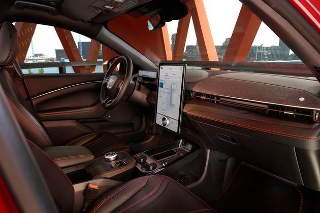 Rein elektrischer Ford Mustang Mach-E