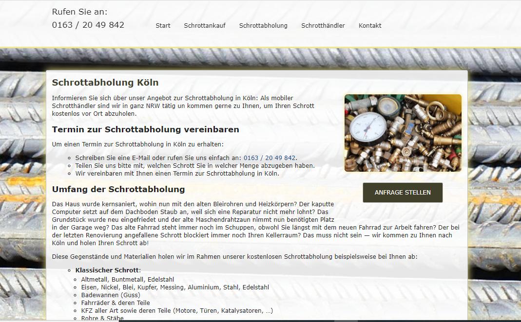 Schrottabholung Köln – Alte Badewannen, Fahrräder Und PCs Verstopfen Ihren Dachboden? Ein Kurzer Anruf Genügt